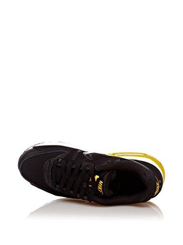 Nike  Air Max Command (Gs),  Herren Sneakers schwarz/gelb