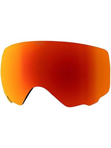 Anon WM1 Snow Goggle Replacement Lens Sonar Red 14% VLT + Case by Anon