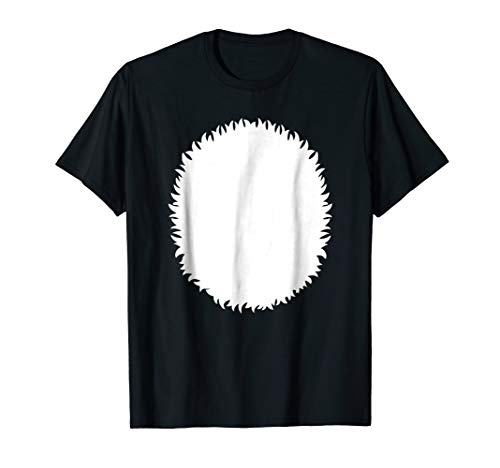 Panda Belly Skunk White Polar Bear Halloween Costume Shirt