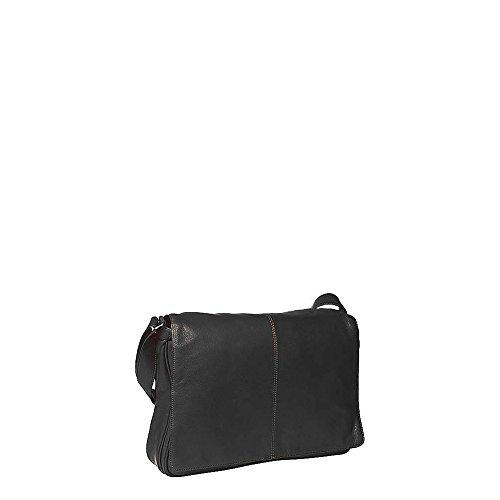 - Osgoode Marley Cashmere Messenger Bag (Black)