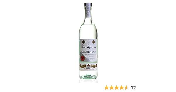 Bacardi Ron Heritage - 700 ml: Amazon.es: Alimentación y bebidas
