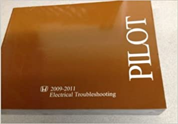 2009 2010 2011 honda pilot electrical troubleshooting wiring diagram manual  ewd: honda: amazon com: books