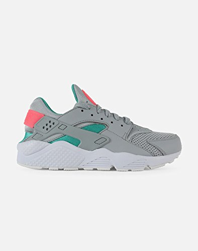 NIKE Air Huarache Men's Running Shoes Wolf Grey/Sunset Pulse 318429-053 (8.5 D(M) (Nike Air Total Package)