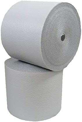 US Energy Reflective Foam Core Insulation Garage Door White Foil 21 Inch x 16ft Roll White / Foil Finish AD5 (1/4 inch Thick) USA Made Meets Fire Code