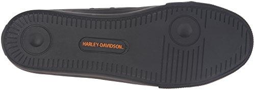 Scarpa Da Skateboard Baxter Uomo Harley-davidson Nero / Arancione
