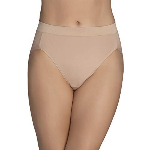 Vanity Fair Women's Beyond Comfort Microfiber Panties with Stretch