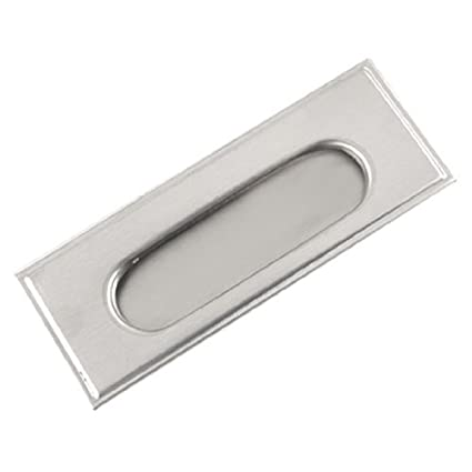 eDealMax Puertas correderas de Gabinete de acero inoxidable ...