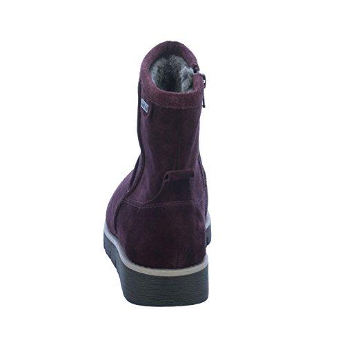 Jana Damen 26433 Stiefel Rot (Bordeaux)