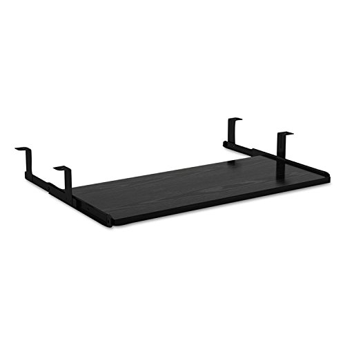 Alera ALEVA312812BK Valencia Series Underdesk Keyboard/Mouse Shelf, 28w x 12d, Black