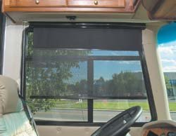 Carefree 12040ZA36L Black 40'' Maxi Side Visor by CAREFREE