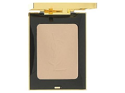 Yves Saint Laurent POUDRE COMPACTE ÉCLAT ET MATITE - Matt & Radiant Pressed Powder 3 Beige 0.29 oz