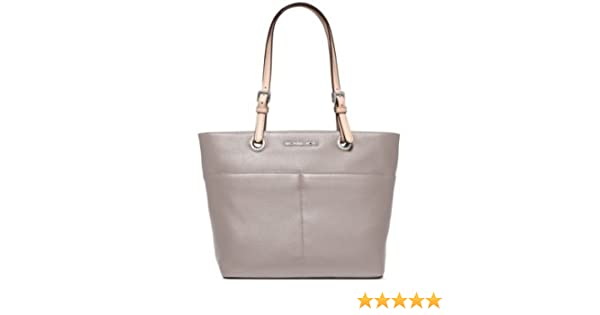 e49d1718deff Amazon.com: Michael Michael Kors Jet Set Item Top Zip Tote Leather Ash  Grey/silver New: Shoes
