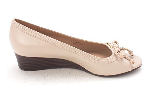 Toe Cole Haan Pumps Tan Womens Open Fontannesam Wedge IIg6Zqf