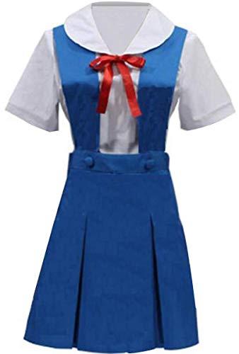 Rei Ayanami School Uniform Costumes - Poetic Walk EVA Neon Genesis Evangelion