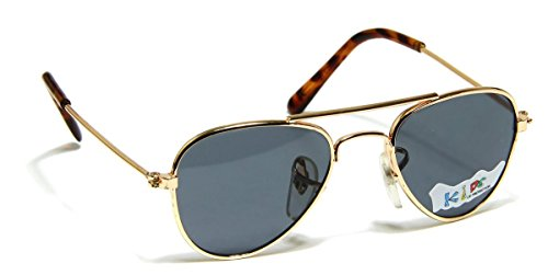 Baby-Infant-Boy-or-Girl-Classic-Metal-Aviator-Fashion-Sunglasses-for-Ages-0-to-9-Or-6-to-18-Months-Old
