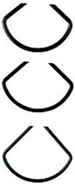 Ulmia 170-a Klammern Spannklammern; hochwertiger, geh/ärteter Federstahl; Spitzen angeschliffenen; keine Sch/ädigung des Spanngutes; Spitzenweite: 9 mm Gehrungsspannklammern