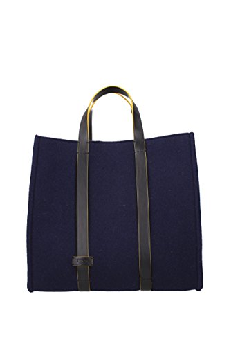 Bolsos de mano Fendi Hombre (7VA39051N) Azul marino