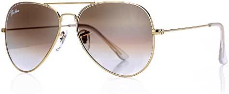 Pro Acme Aviator Crystal Lens Large Metal Sunglasses,58mm