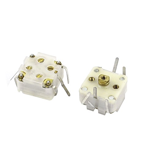 Medium Tuner - Aexit 2pcs 443DF Model 20-126pF Medium Variodencer Variable Capacitor