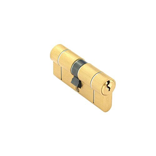 Securit Anti Snap / Bump / Drill / Pick Euro Cylinder Brass Door Lock 35mm x 35mm S2056 by Securit