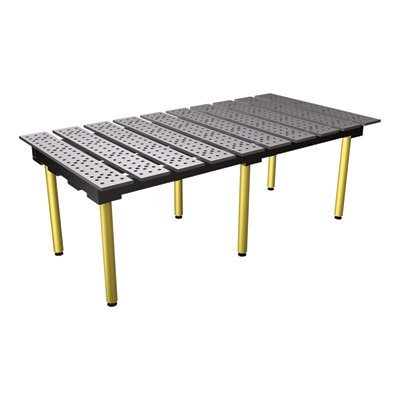 StrongHand Tools BuildPro Modular Welding Table - 30in. Steel, Model Number TMB57838 (Fabrication Table)