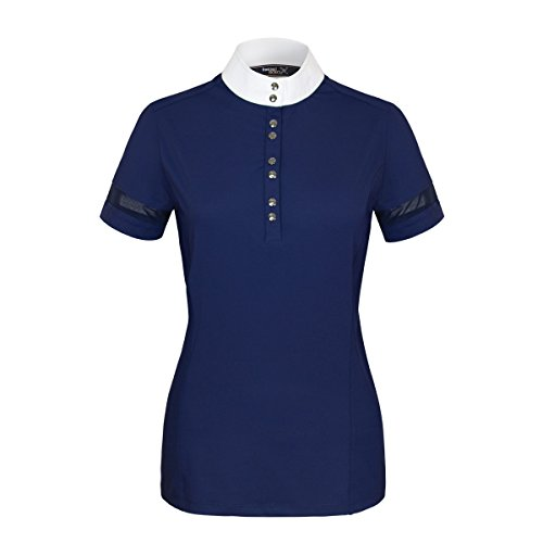 Tredstep Solo Air S/S Competition Shirt Medium Navy by Tredstep Ireland