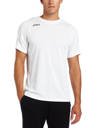 ASICS Men's Crusher Jersey, White/White, ()