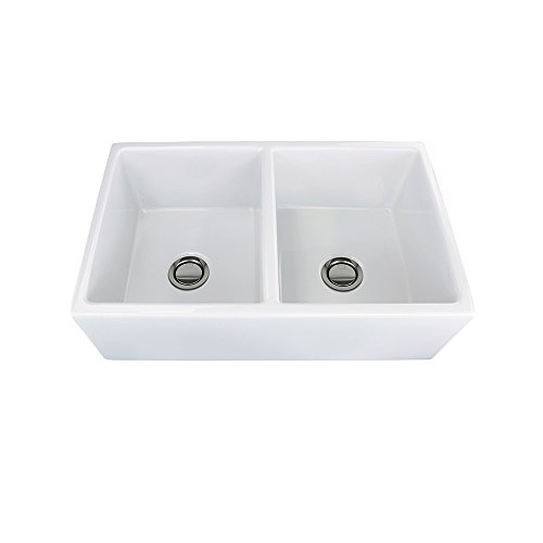 Fireclay Double Bowl Kitchen Sink - 2