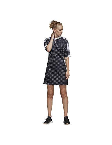 Vestito Donna Adidas Noir Du9723 blanc hdxtrCBsQ
