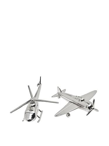 Airplane/Chopper Salt and Pepper Set ()