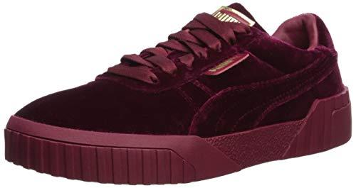 PUMA Women's Cali Sneaker, red-Tibetan, 8 M US