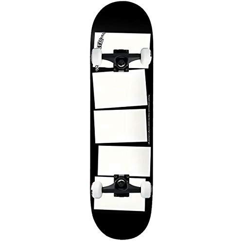 """Baker Skateboard Complete Baca Color Change 8.0"""" Black Trucks Assembled"""