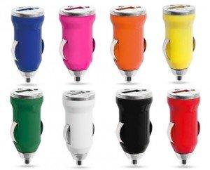 Lote de 30 Cargadores Baratos de Coche USB - 1000 mA. Oferta, Cargadores Coches Baratos, ideal para regalos de empresa, promocionales, regalos ...
