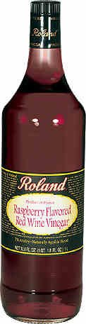 Roland Red Wine Vinegar, Raspberry, 33.80 Fl OZ