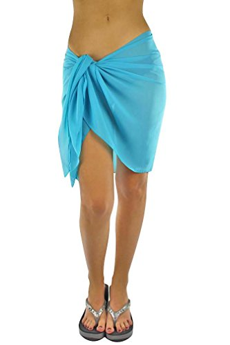 Luxury-Divas-Womens-Short-Sarong-Wrap-Cover-Up
