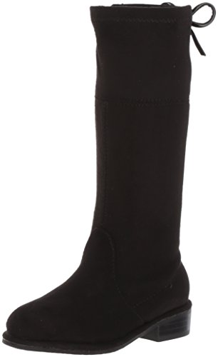 Stuart Weitzman Girls' Lowland Bow-t Fashion Boot, Black, 9 M US (Stuart Weitzman Bow)