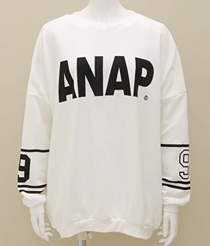 ペインティング尽きる日記ANAP(アナップ) ANAPロゴ×1992プルオーバー