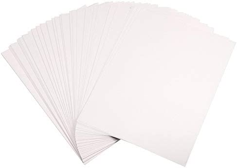 100 unidades de papel A4 de transferencia de calor por sublimación de tinte para funda de teléfono de poliéster y algodón, 210 x 297 mm: Amazon.es: Oficina y papelería