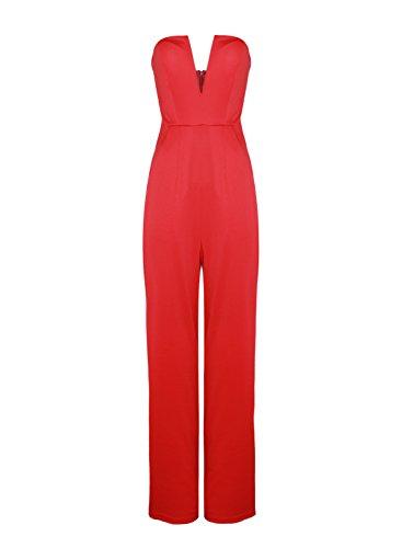 dianshang-dream-womens-sexy-deep-v-wide-leg-cocktail-jumpsuit-business-suits