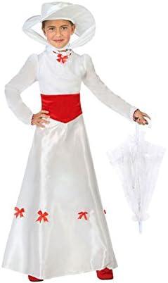 Atosa-56925 Disfraz Dama Inglesa, Color Blanco, 5 a 6 años (56925 ...