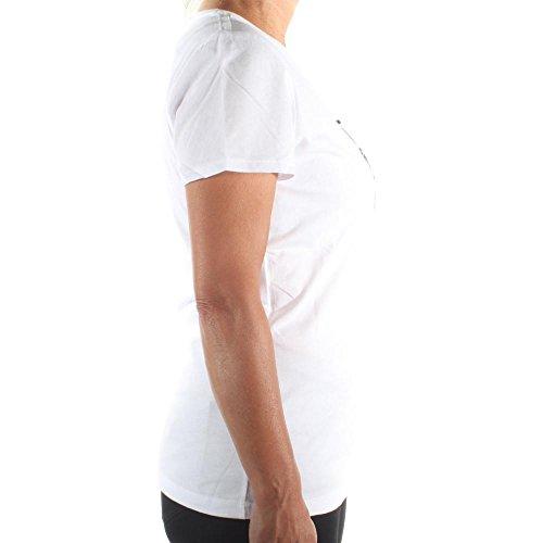 Maniche Guess Donna A000 Bianco T Jeans shirt W73i19k5y70 Corte wIzZqI