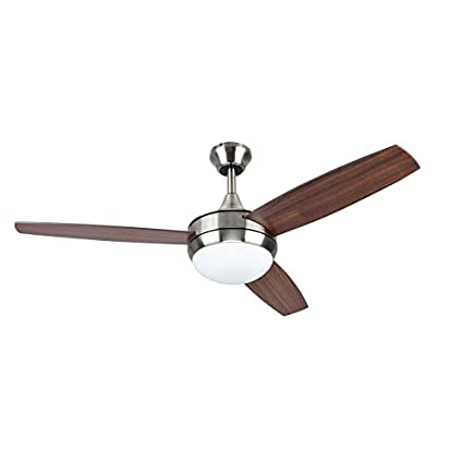 Beach creek 44 in brushed nickel downrod or close mount indoor beach creek 44 in brushed nickel downrod or close mount indoor residential ceiling fan with aloadofball Image collections
