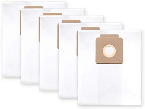 5x bolsas para aspirador tejido Nilfisk Multi 20 (CR, Inox ...