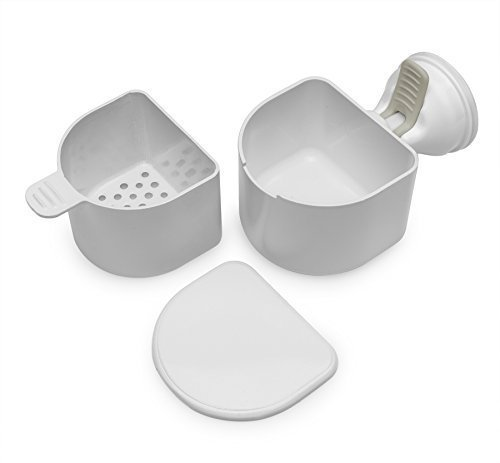 Changing Lifestyles Safe-er-Grip Denture Bath (2-Pack)