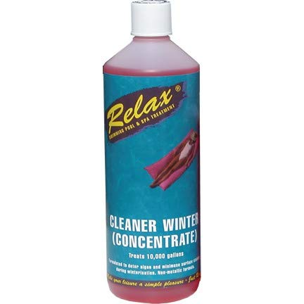 Relax Cleaner Winter Concentrate 1 litre - Non-Copper Longlife Algicide Plastica