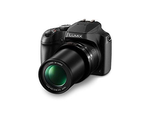 Panasonic FZ80 Lumix 4K Long Zoom Camera, 18.1 MP, F2.8-5.9, Power O.I.S with 3