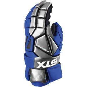 STX Lacrosse Men's 12-Inch Shadow Glove, Royal Blue, Medium