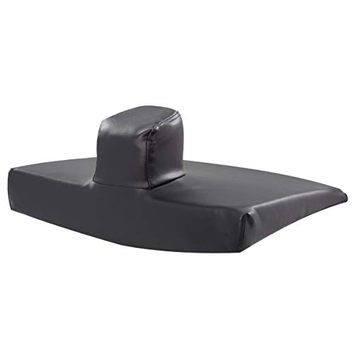 Sammons Preston Pommel Wedge Cushion, Wheelchair Accessory, Seat Pad, Foam Support Pad, Lower Back, Tailbone, and Sciatica Pain Relief, Slide Control to Prevent Slipping Out of Seat