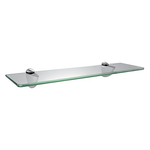 KES Tempered Glass Shelf, Bathroom Shelf (19.6