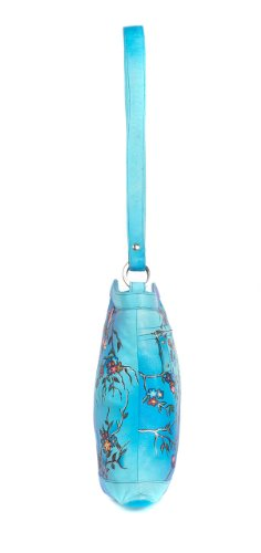 Zimbelmann Penelope Umhängetasche aus echtem Nappa-Leder - handbemalt